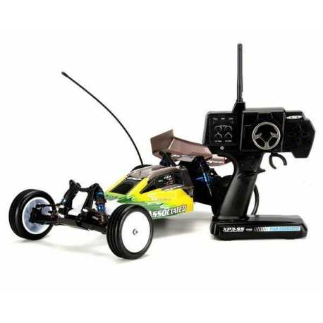 COCHE RC10B4.1 BUGGY 1/10 2WD RTR 2.4GHZ BRUSHLESS