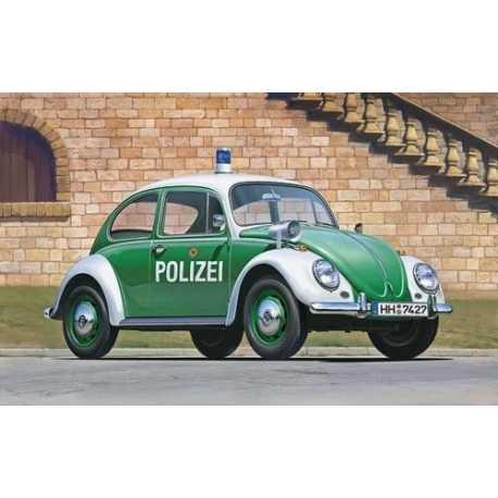 HW 1:24 BEETLE TYPE 1 POLICE CAR