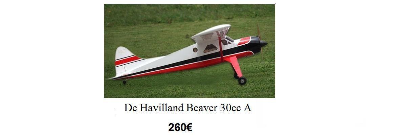 De Havilland Beaver 30cc A