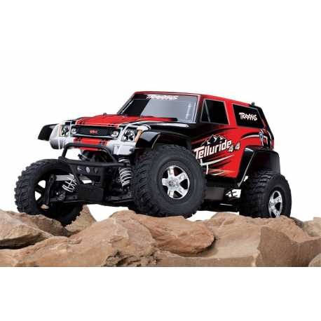 Coche 4WD MONSTER RTR TQ 1/10