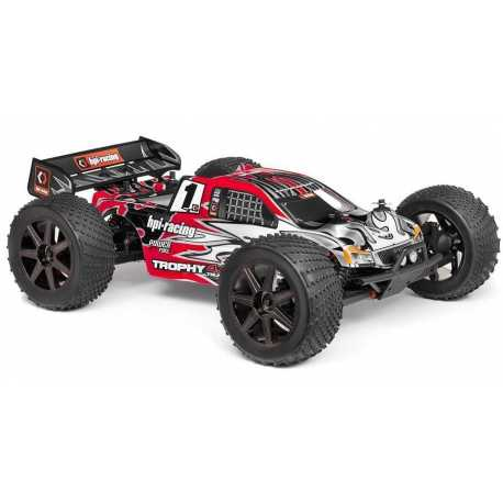 COCHE TROPHY V4.6 TRUGGY RTR 2.4 GHZ 1/8