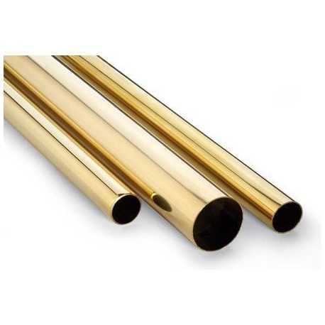 Tubo de Latón 5mm x 4.1mm (Interior)