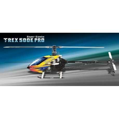 Trex 500E Pro Super Combo