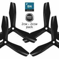 BN-3blade-FPV - 6x4.5 Prop Set x4 Negra