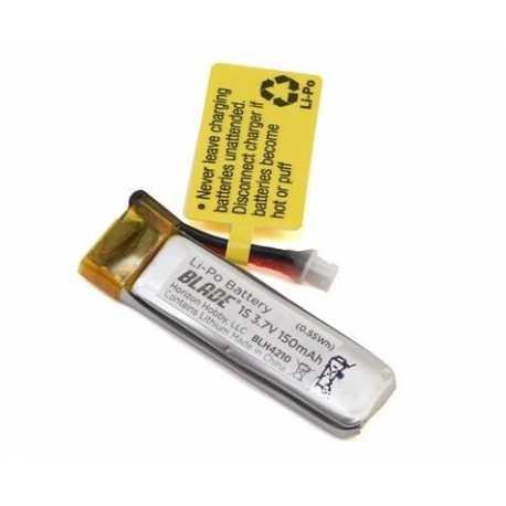 150mAh 1S 3.7V 40C LiPo Battery: 70S