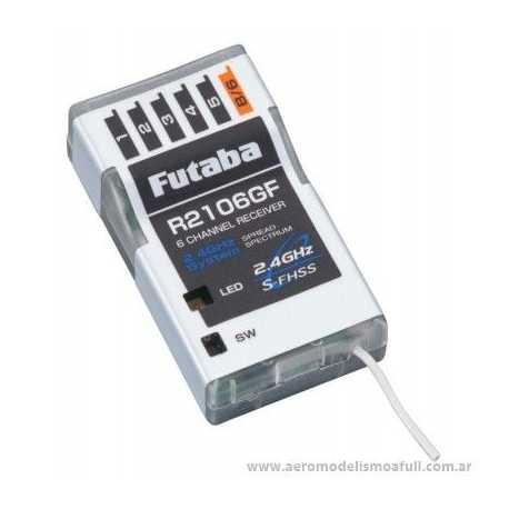 Receptor futaba R2106GF