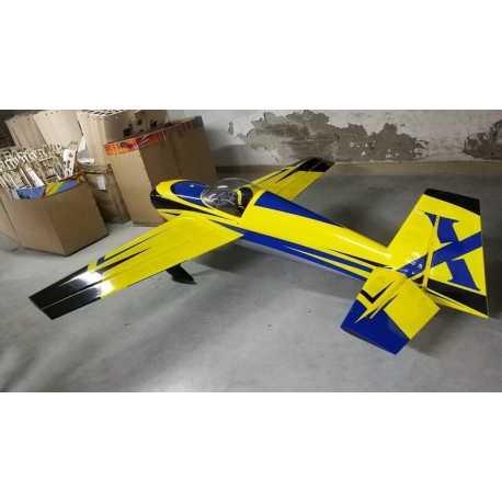 "105.5"" Slick 580 EXP- Yellow/Blue"