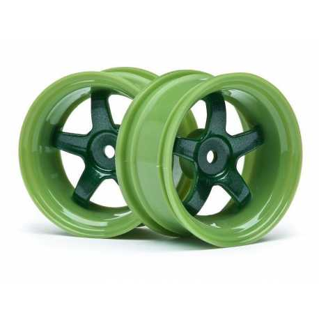 WORK MEISTER S1 WHEEL GREEN 26mm (6mm OS/2pcs)