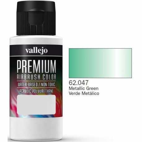 Pintura Vallejo Premium Verde Metálico 60ml