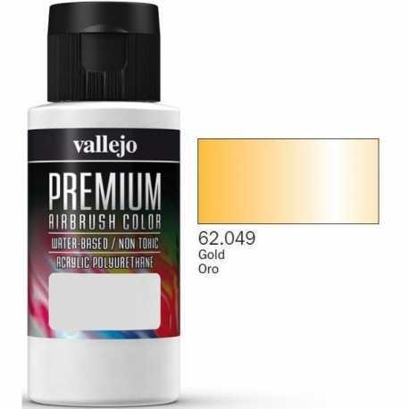 Pintura Vallejo Premium Oro 60ml