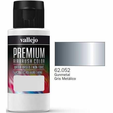 Pintura Vallejo Premium Gris Metálico 60ml