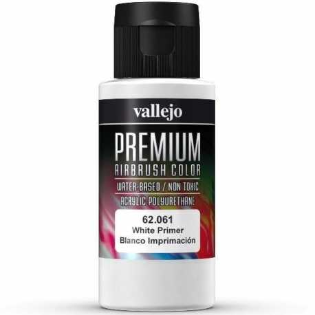Pintura Vallejo Premium Blanco Imprimación 60ml