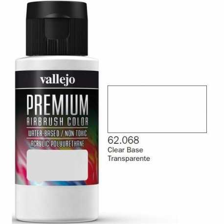 Pintura Vallejo Premium Base Transparente 60ml