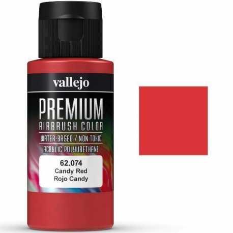 Pintura Vallejo Premium Rojo Candy 60ml
