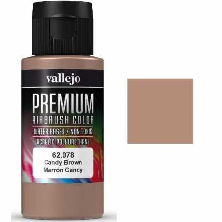 Pintura Vallejo Premium Marrón Candy 60ml