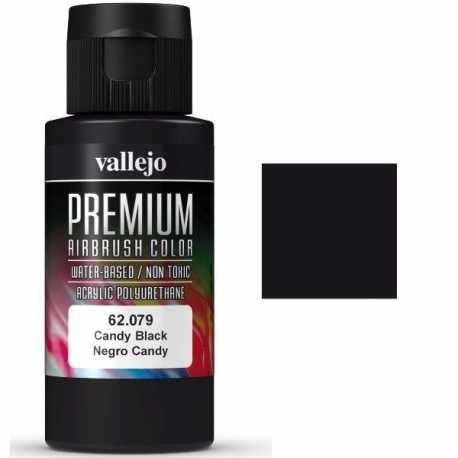 Pintura Vallejo Premium Negro Candy 60ml