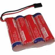 Bateria AA 2500mAh 4.8V plana