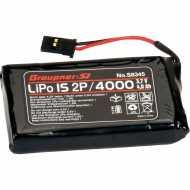 Bateria Lipo para emisora 1S 4000 MAH 2P 3,7 VOLT MZ-24, MZ-18, MC-26