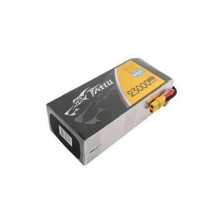 Tattu 23000mAh 22.8V 25C 6S1P Lipo Battery Pack With XT90-S