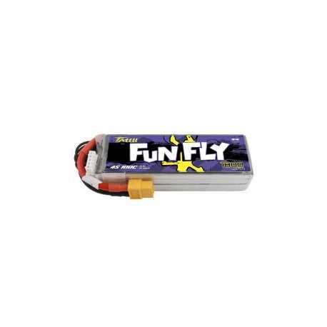 Tattu Funfly Series 1800mAh 14.8V 100C 4S1P Lipo Battery Pack with XT-60 Plug