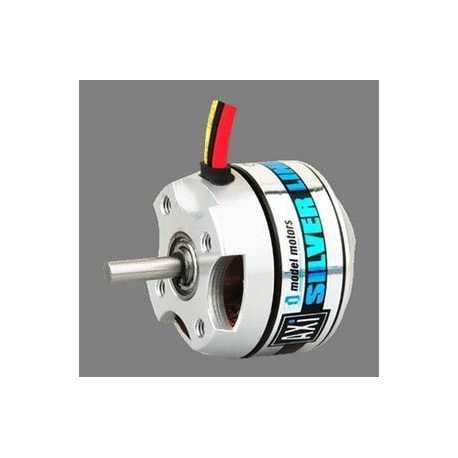 Brushl. motor- rotating case EM-300/26-2208/26Silv - Brushless