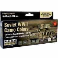 Set 8 Model Air Soviet WWII Camo Wilder