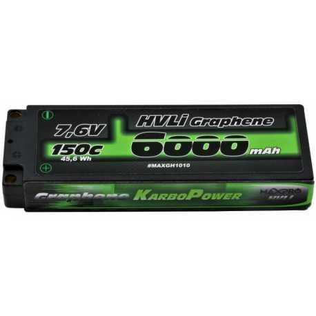 MAXPRO Li-Po 150C 7.6V 6000mAh 3S