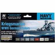 Set 8 Mo. Air alemanes Kriegsmarine WWII