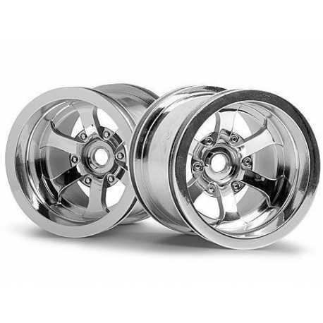 HPI 1/10 Trucks/ Includes Universal Wheel Adaptor/ 2.2in/ 55x50m